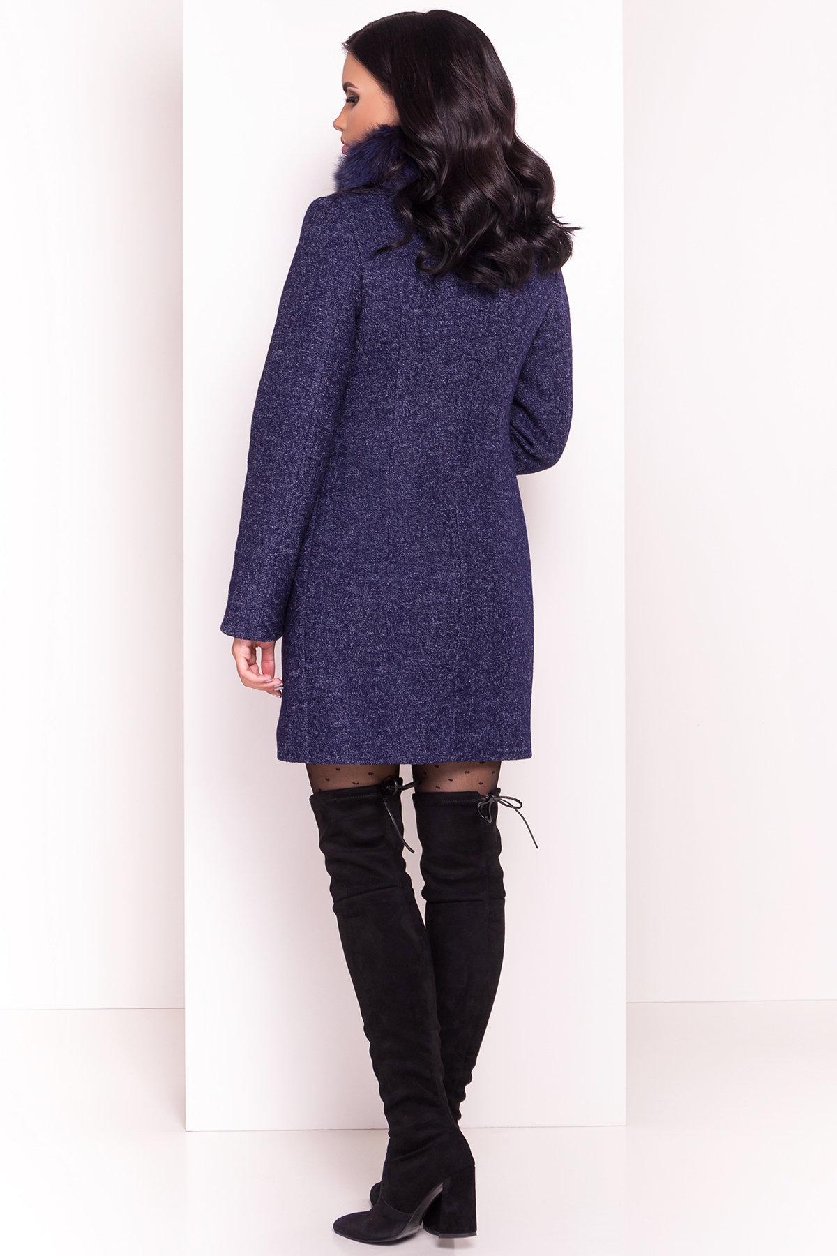 Пальто зима Сплит 3359 АРТ. 18862 Цвет: Темно-синий - фото 4, интернет магазин tm-modus.ru