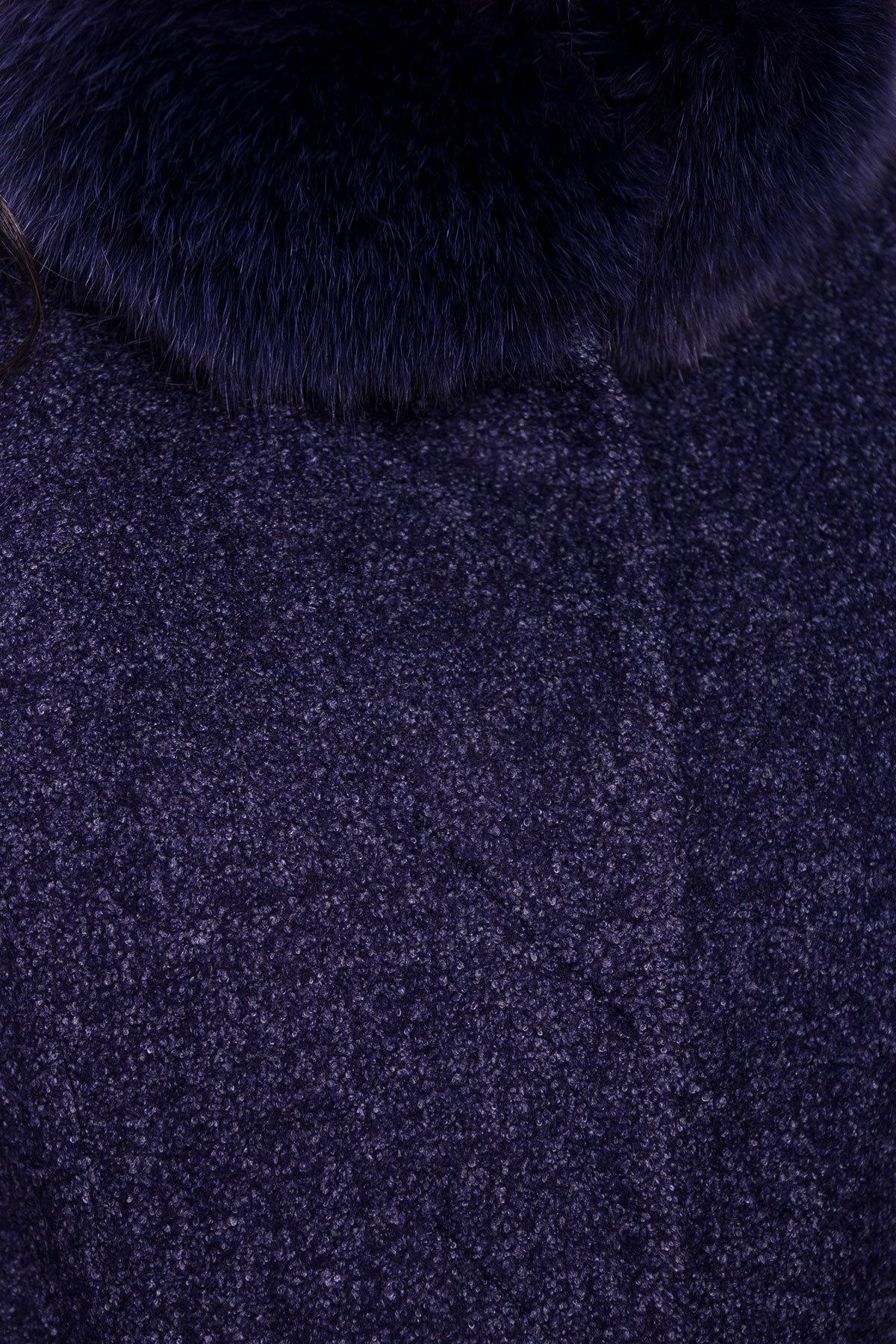 Пальто зима Сплит 3359 АРТ. 18862 Цвет: Темно-синий - фото 5, интернет магазин tm-modus.ru