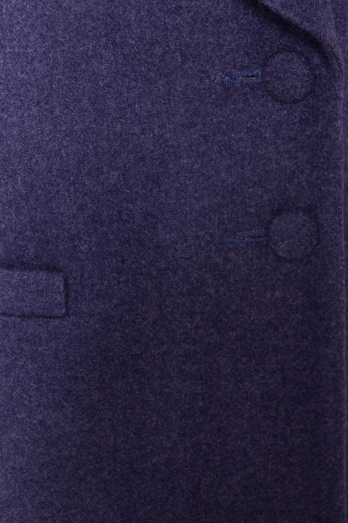 Демисезонное пальто Вива 4558 АРТ. 37263 Цвет: Джинс - фото 5, интернет магазин tm-modus.ru