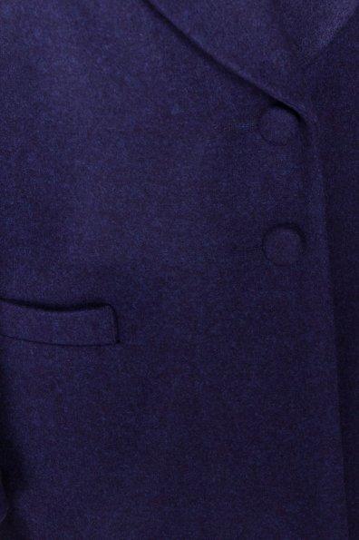 Демисезонное пальто Вива 4558 Цвет: Темно-синий 17