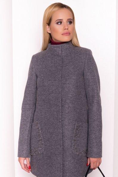 Пальто Даймон 5377 Цвет: Серый Темный