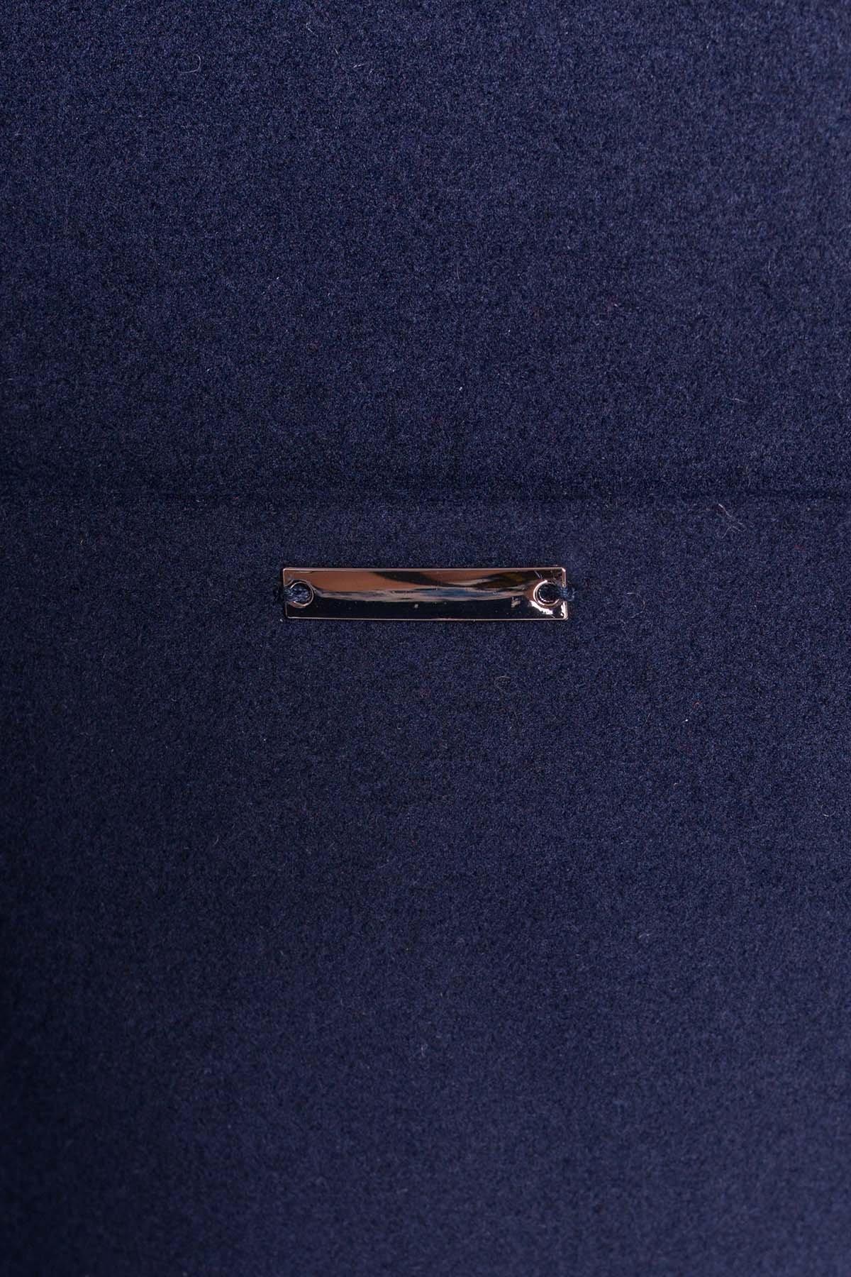 Пальто Вейси 1985 АРТ. 13686 Цвет: Тёмно-синий - фото 5, интернет магазин tm-modus.ru