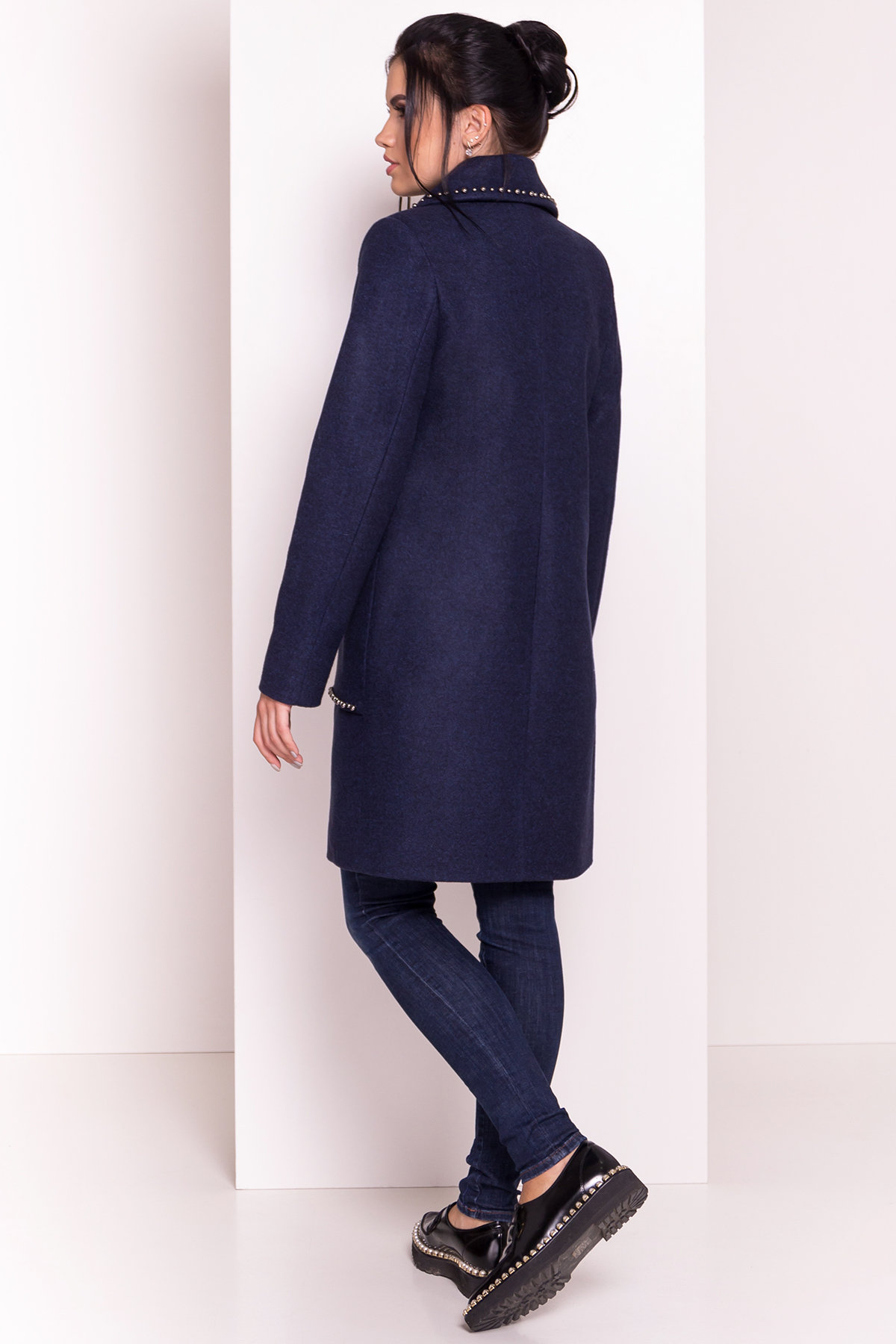 Пальто Кейси 5504 АРТ. 37032 Цвет: Темно-синий 17 - фото 5, интернет магазин tm-modus.ru