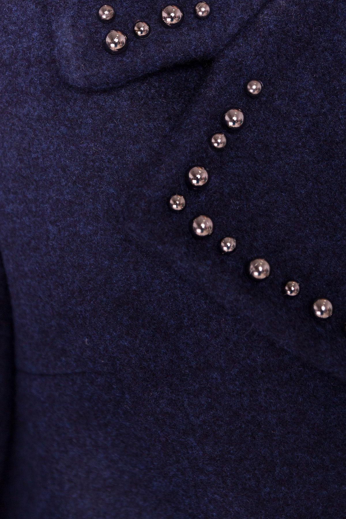 Пальто Кейси 5504 АРТ. 37032 Цвет: Темно-синий 17 - фото 6, интернет магазин tm-modus.ru