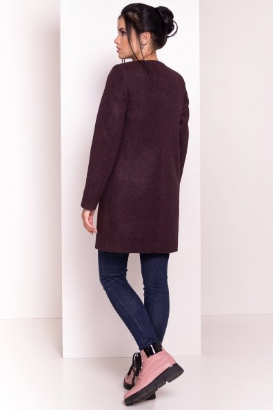 Весенние пальто Пелагея 5512 Цвет: Марсала