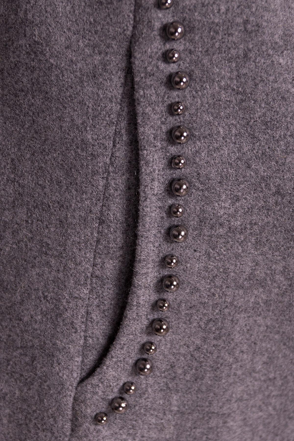 Весенние пальто Пелагея 5512 АРТ. 37057 Цвет: Серый 18 - фото 5, интернет магазин tm-modus.ru