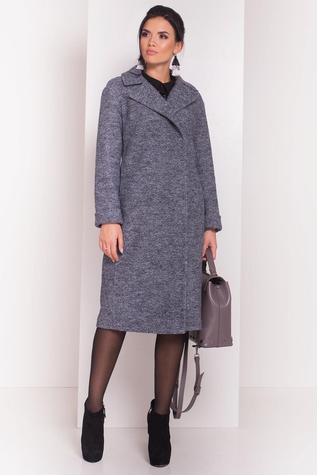 Пальто Богема 5551 Цвет: Серый темный LW-22
