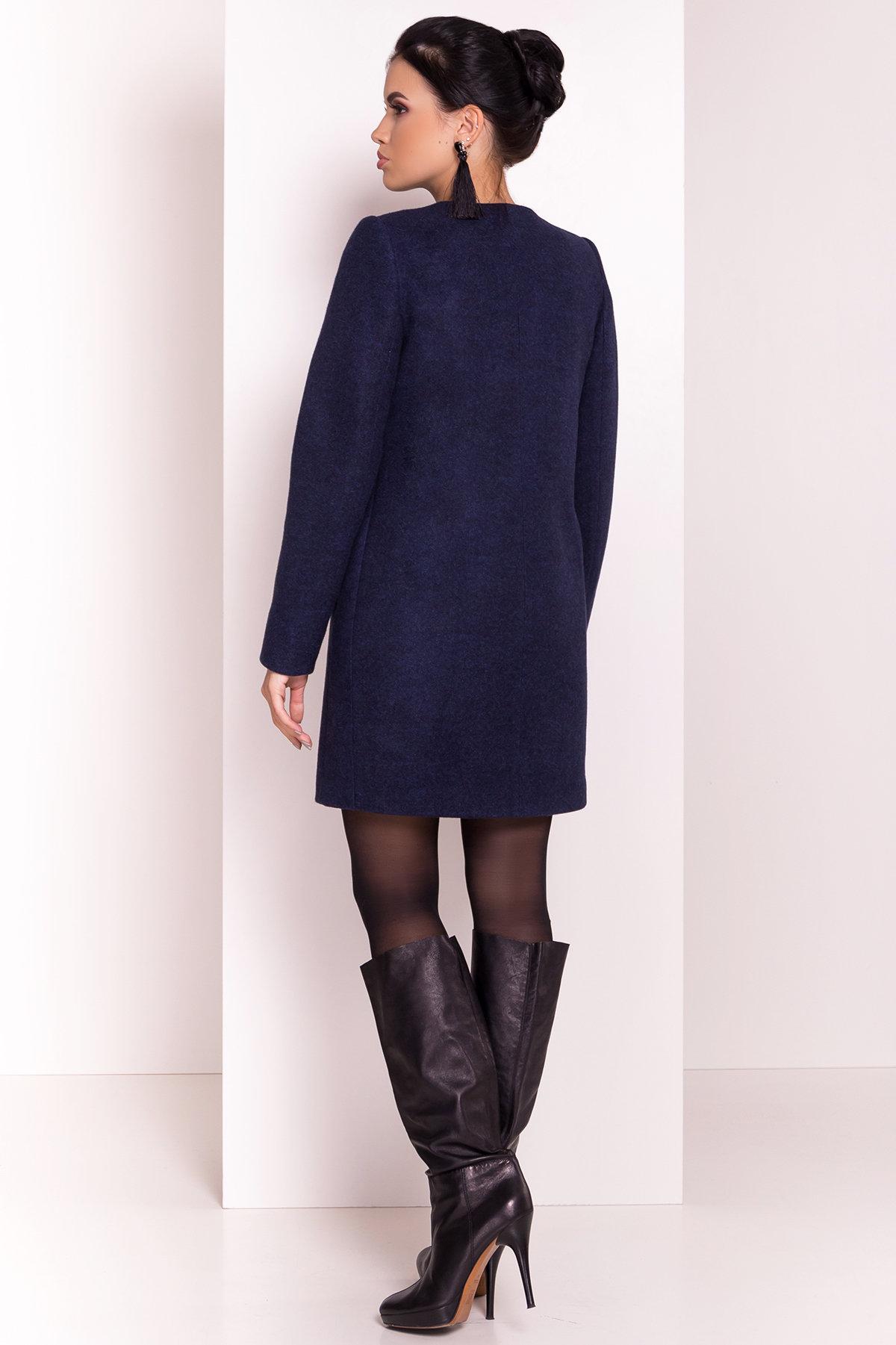 Весенние пальто Пелагея 5512 АРТ. 37060 Цвет: Темно-синий 17 - фото 4, интернет магазин tm-modus.ru