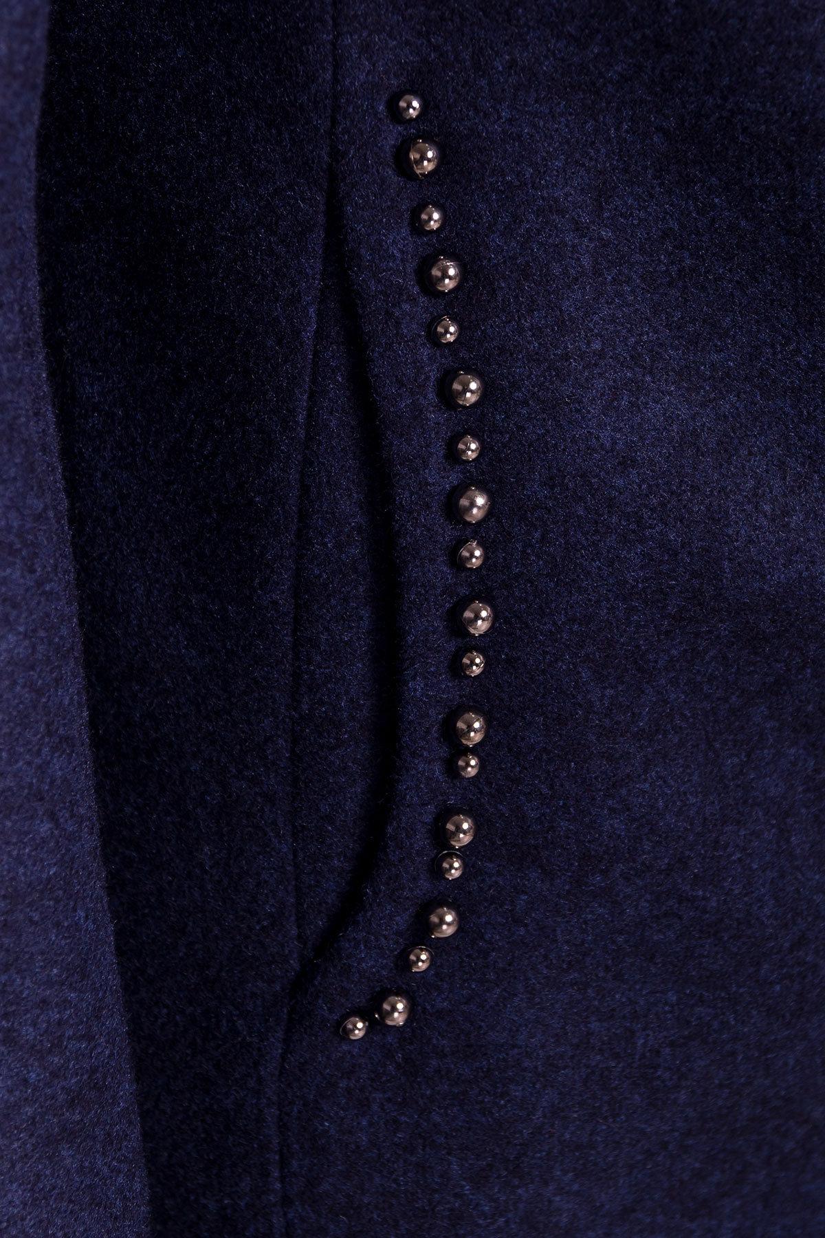 Весенние пальто Пелагея 5512 АРТ. 37060 Цвет: Темно-синий 17 - фото 5, интернет магазин tm-modus.ru