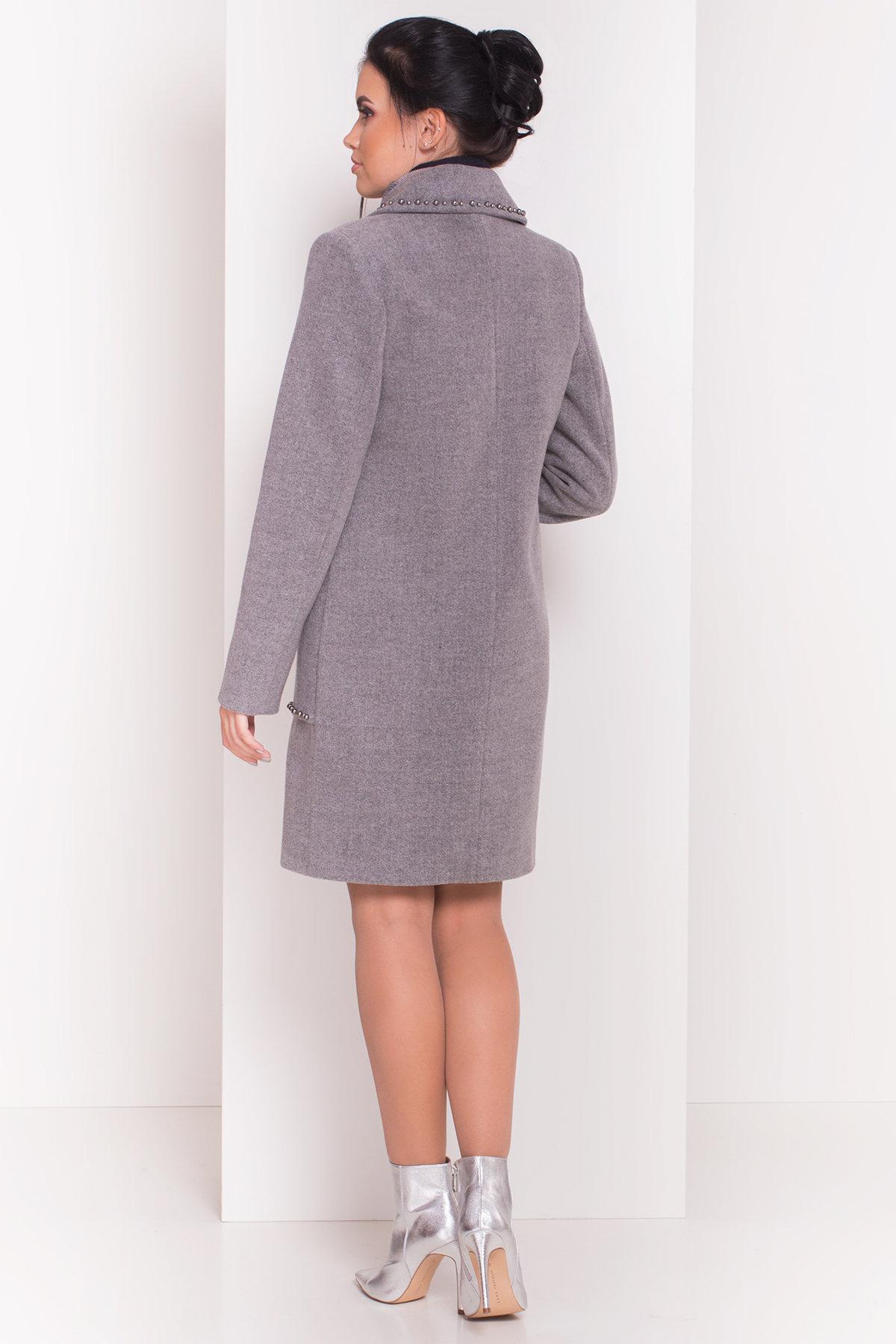 Пальто Кейси 5504 АРТ. 37030 Цвет: Серый 18 - фото 5, интернет магазин tm-modus.ru