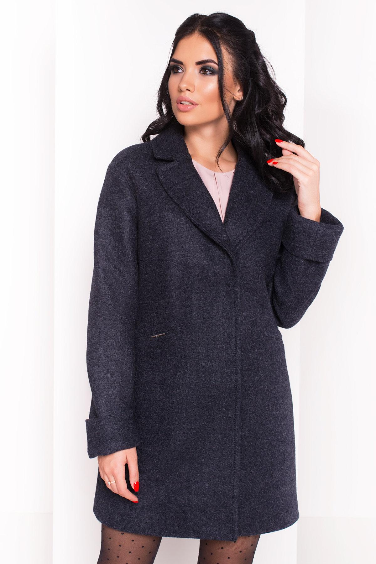 Пальто Ждана  5405 Цвет: Темно-синий 6