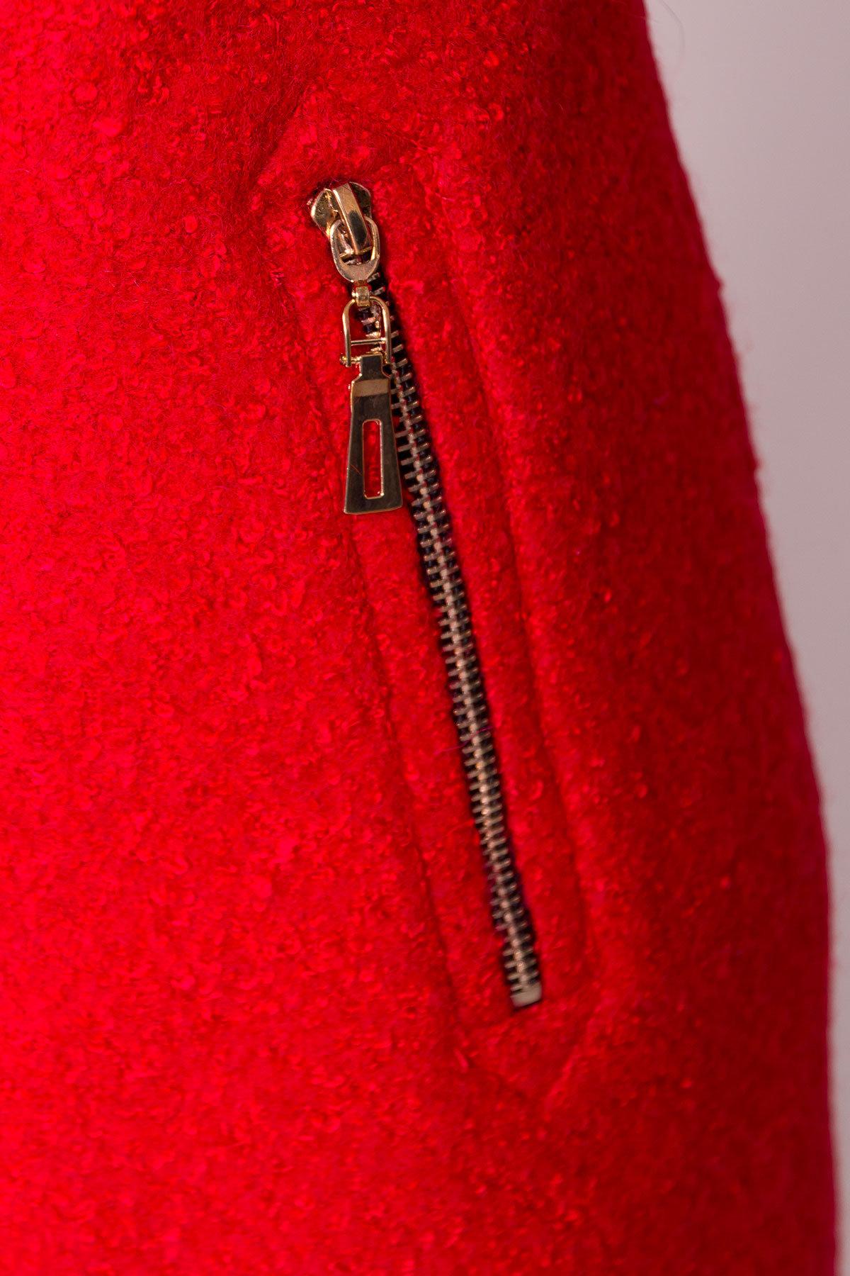 Пальто зима Эльпассо 0631 Цвет: Красный