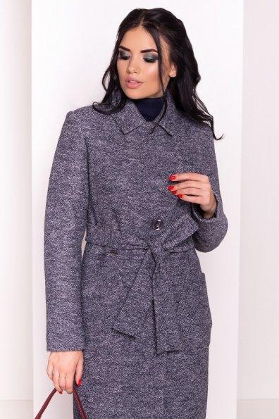 Пальто Габриэлла 4224 Цвет: Серый темный LW-22