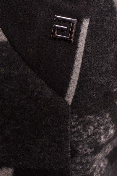 Пальто зима Делфи 0954 Цвет: Черный/серый Буквы Д5/С1