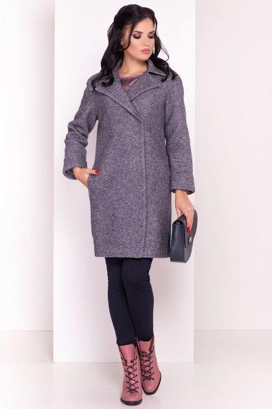Пальто  Приора 5553 Цвет: Серый Темный LW-47