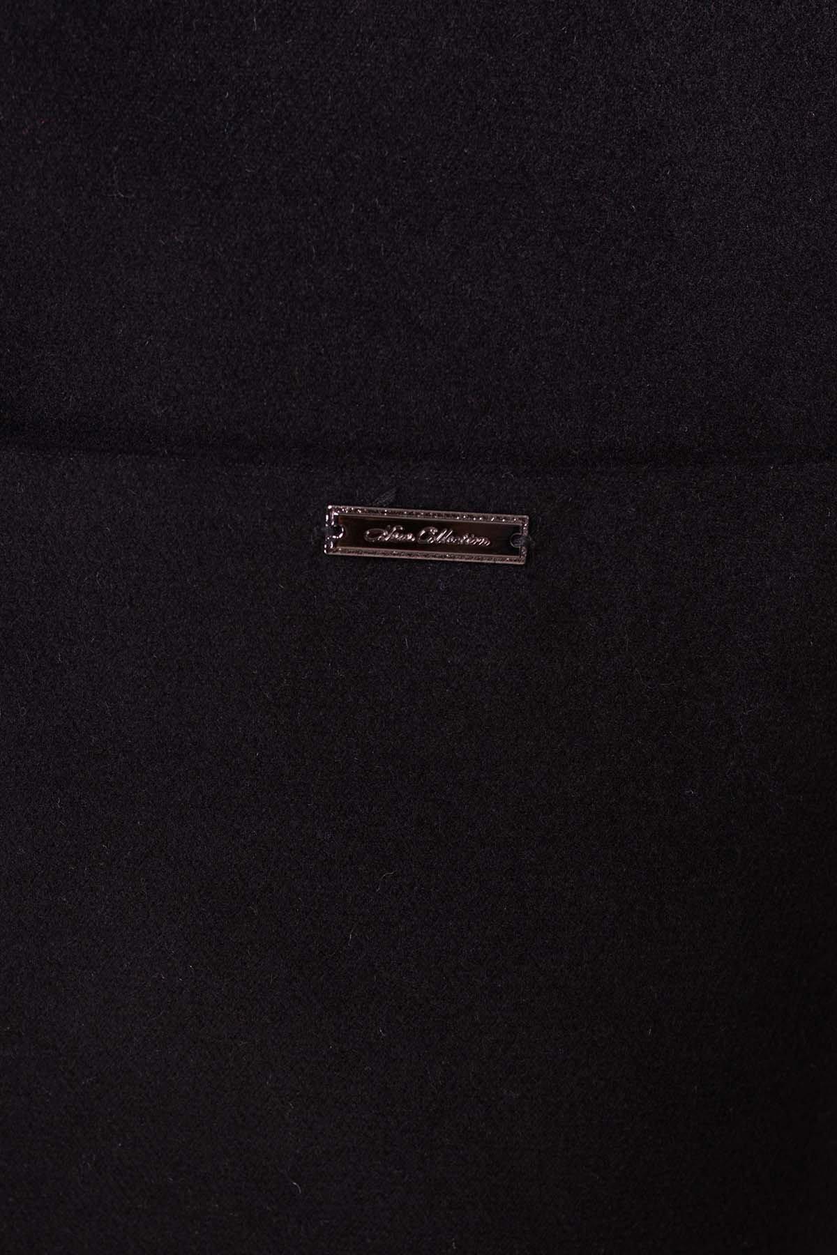 Пальто Вейси 1985 АРТ. 13688 Цвет: Черный - фото 5, интернет магазин tm-modus.ru