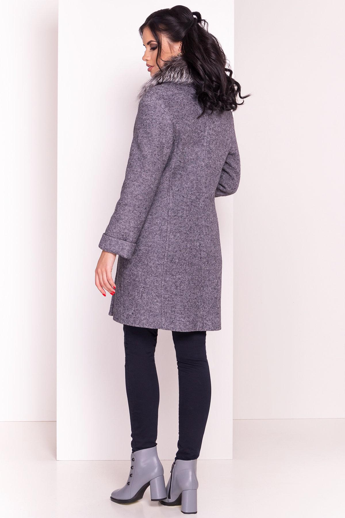 Пальто зима Приора 5427  АРТ. 36750 Цвет: Серый Темный LW-47 - фото 5, интернет магазин tm-modus.ru