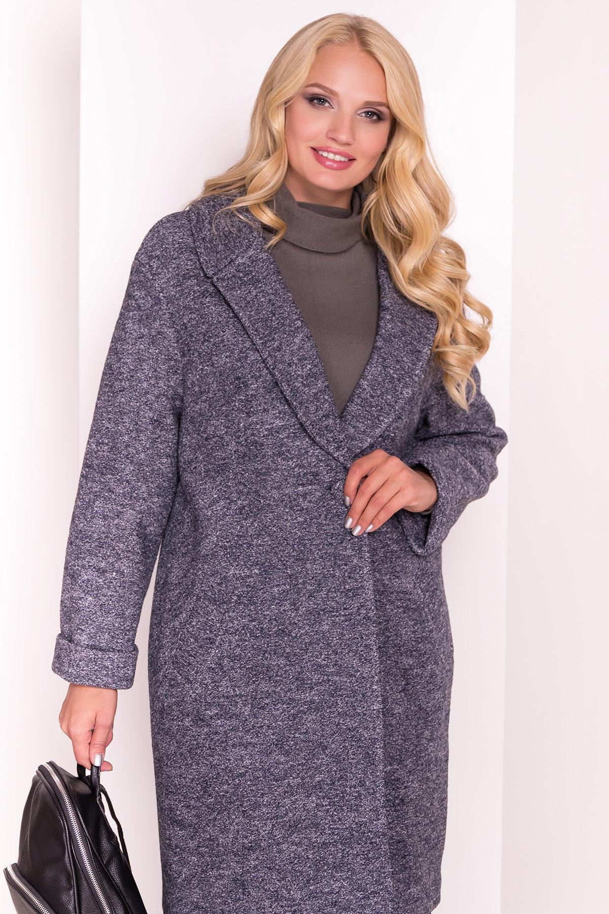 Пальто Арсина Donna 4451 АРТ. 21631 Цвет: Серый темный LW-22 - фото 3, интернет магазин tm-modus.ru