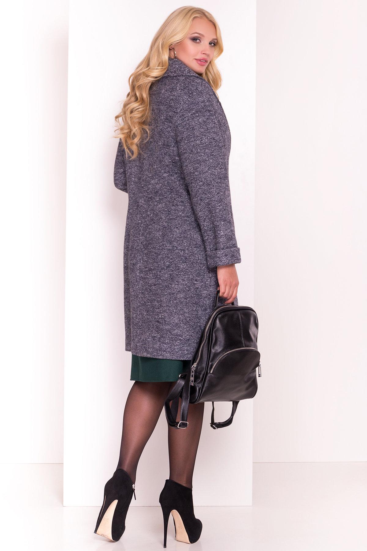 Пальто Арсина Donna 4451 АРТ. 21631 Цвет: Серый темный LW-22 - фото 4, интернет магазин tm-modus.ru