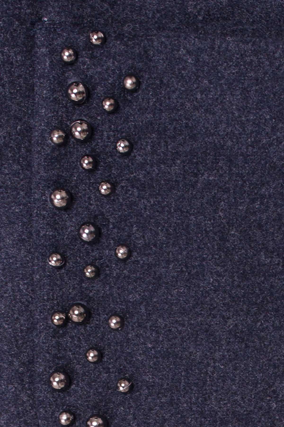 Пальто Даймон 5377 АРТ. 36744 Цвет: Темно-синий 6 - фото 5, интернет магазин tm-modus.ru