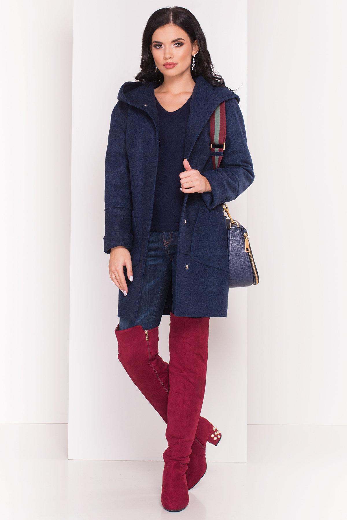Пальто Анита 4416 Цвет: Темно-синий 17