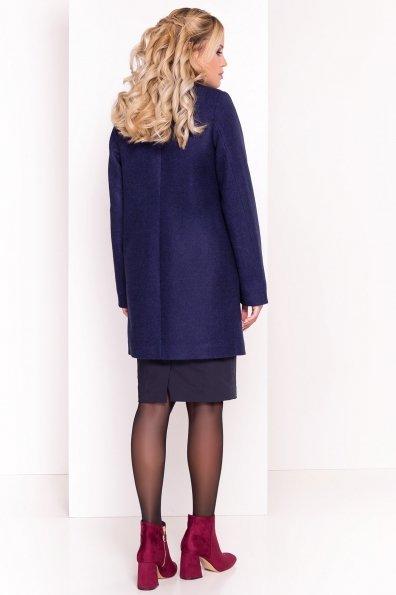 Пальто Шаника 5379 Цвет: Темно-синий 17
