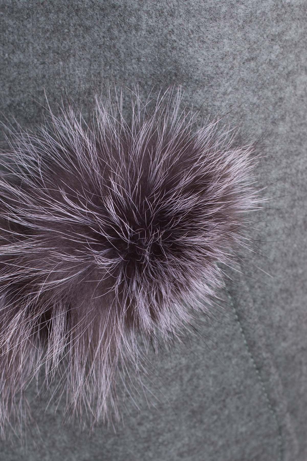Демисезонное пальто трапеция в расцветках Латте 5429 АРТ. 37431 Цвет: Олива - фото 5, интернет магазин tm-modus.ru