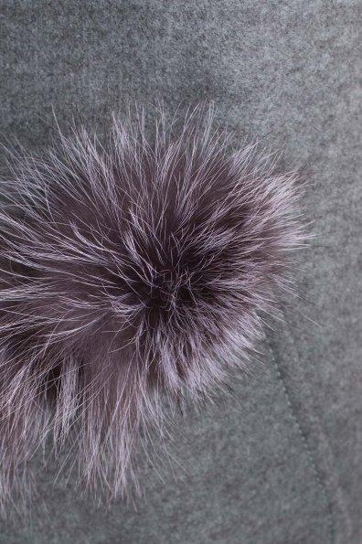 Демисезонное пальто трапеция в расцветках Латте 5429 Цвет: Олива