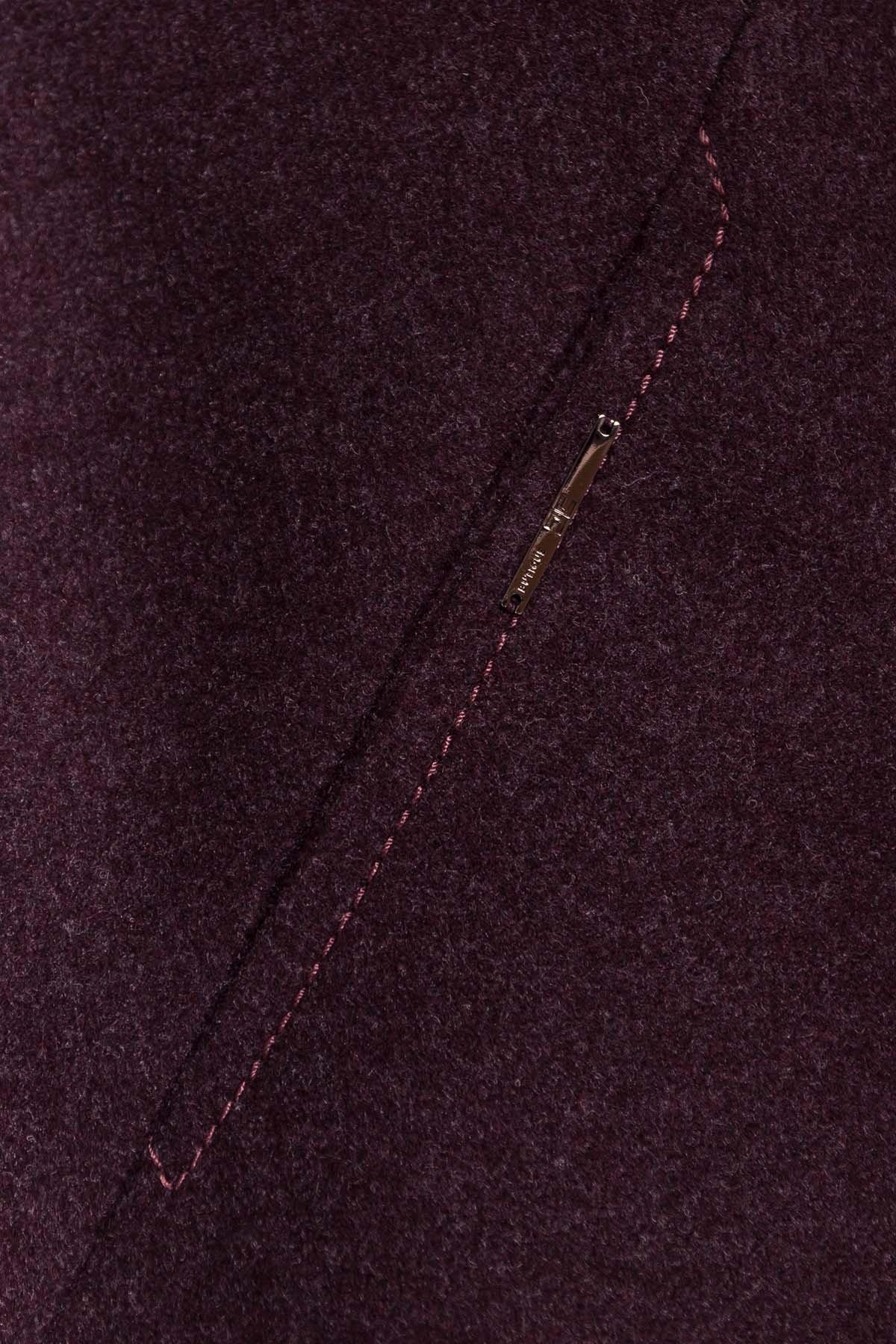 Пальто Шаника 5379 АРТ. 37629 Цвет: Марсала 5 - фото 5, интернет магазин tm-modus.ru