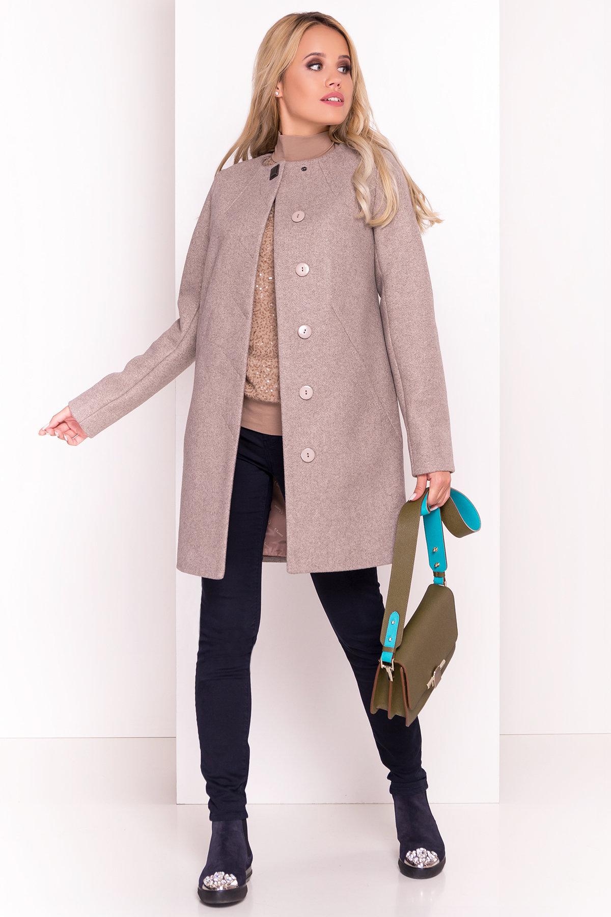 Пальто Шаника 5387 Цвет: Бежевый 10