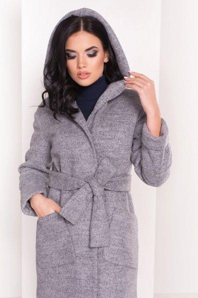 Пальто зима Анита 3466 Цвет: Серый 48