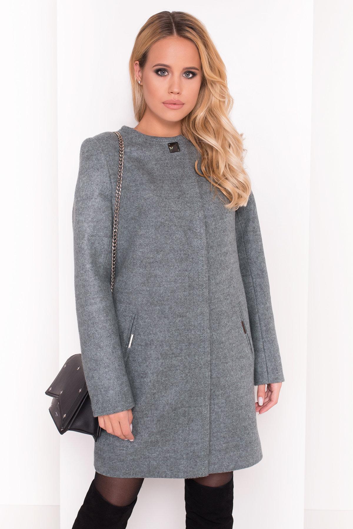 Демисезонное пальто Ферран 5369 АРТ. 37437 Цвет: Олива - фото 4, интернет магазин tm-modus.ru