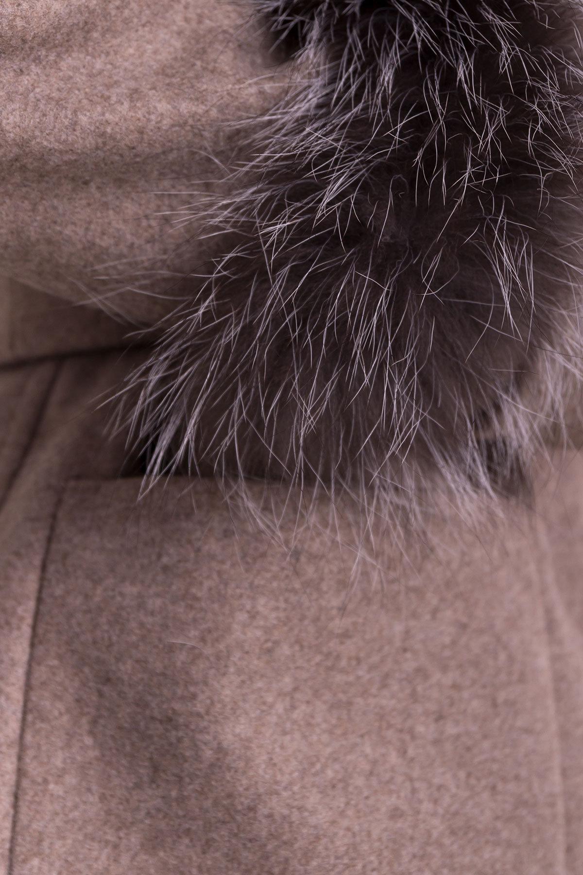 Пальто Кристина 5500 Цвет: Бежевый 28