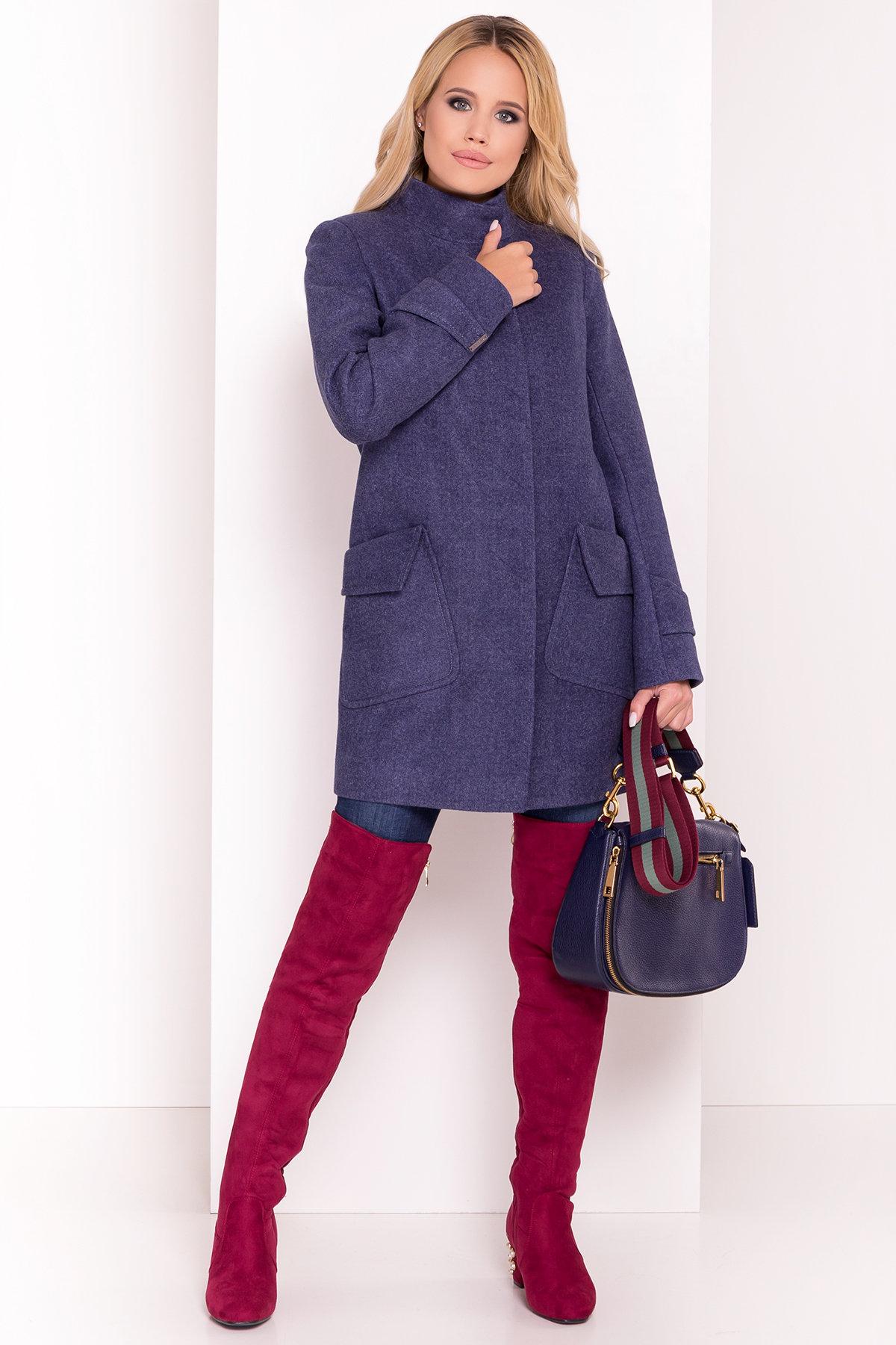 Купить пальто женское недорого от Modus Демисезонное пальто с воротником стойка Эста 5417