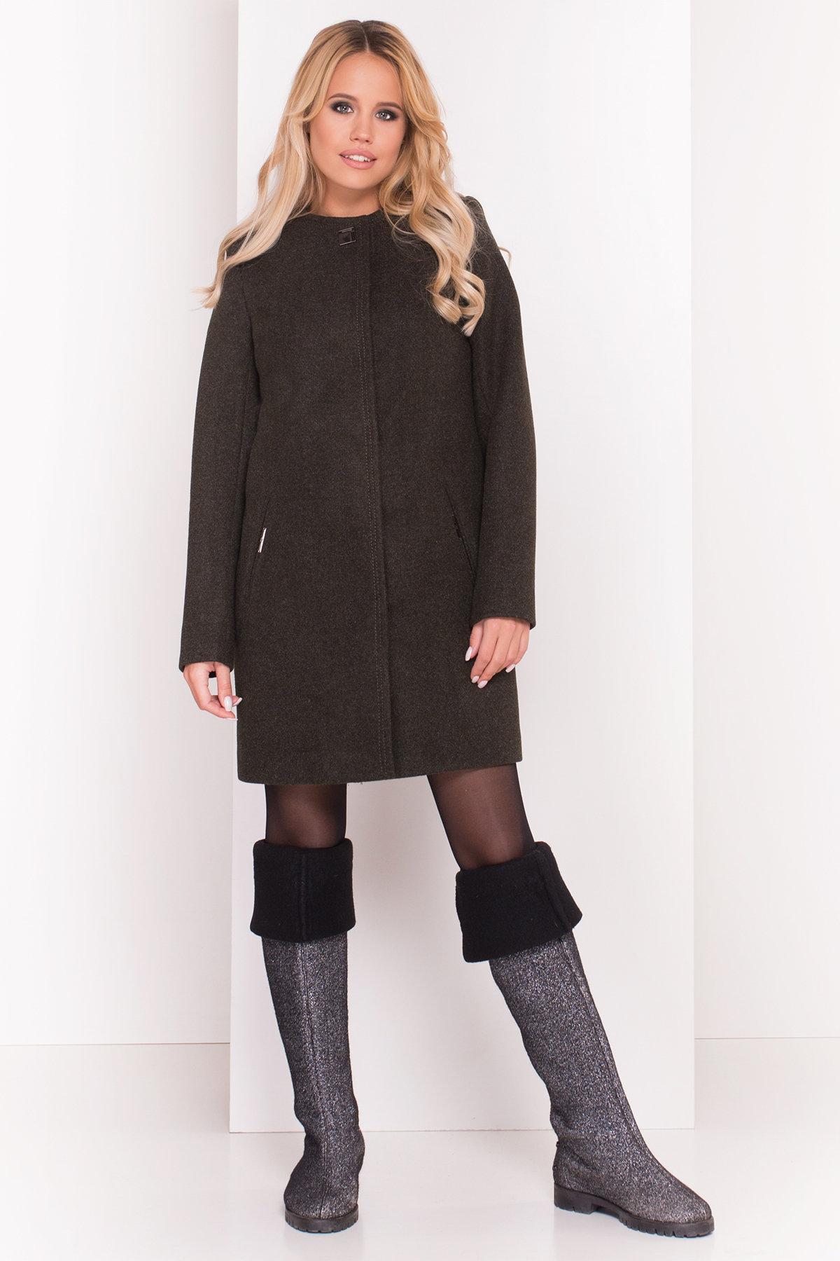 Демисезонное пальто Ферран 5369 Цвет: Хаки