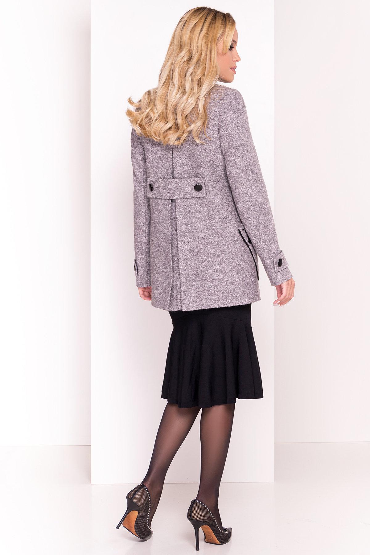 Пальто Латта 5328 АРТ. 37720 Цвет: Серый LW-10 - фото 4, интернет магазин tm-modus.ru