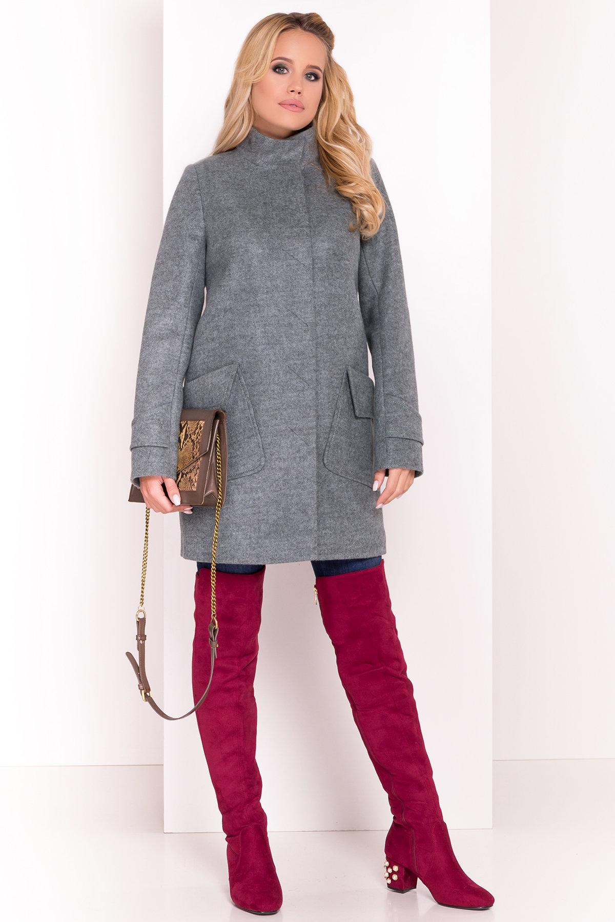 Купить пальто украинского производителя Modus Демисезонное пальто с воротником стойка Эста 5417