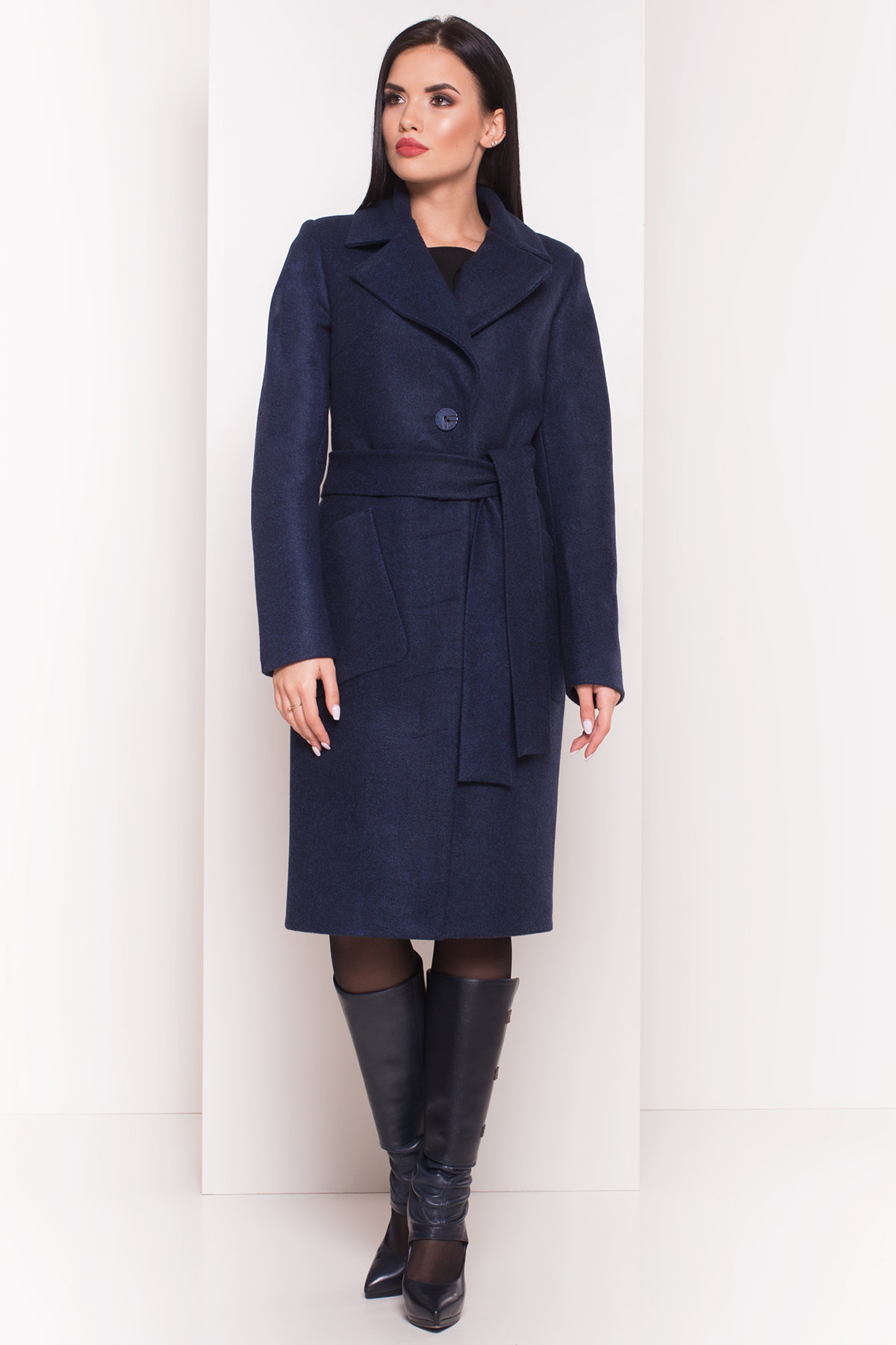 Демисезонное пальто купить Пальто на весну-осень Габриэлла 4459