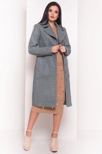 Пальто на весну-осень Габриэлла 4459 Цвет: Олива