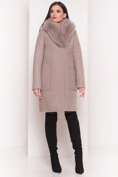 Пальто зима Кейси 5616 Цвет: Бежевый 10