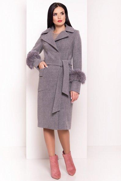 Пальто Стейси 5471 Цвет: Серый 18