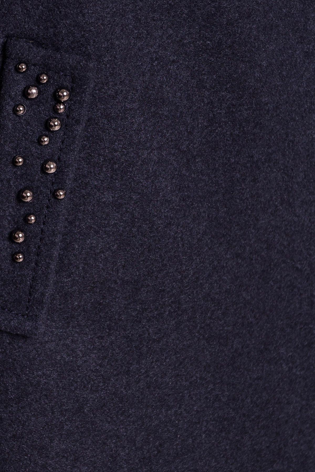Пальто Парис 5404 Цвет: Синий/Зеленый 72