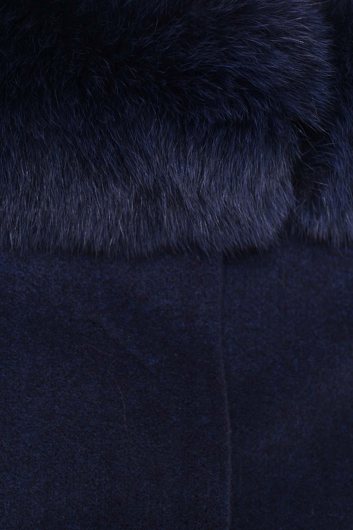 Пальто зима Люцея 5513 АРТ. 37046 Цвет: Темно-синий 17 - фото 5, интернет магазин tm-modus.ru