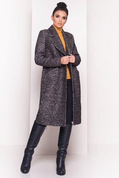 Пальто Джулс 5697 Цвет: Черный/серый