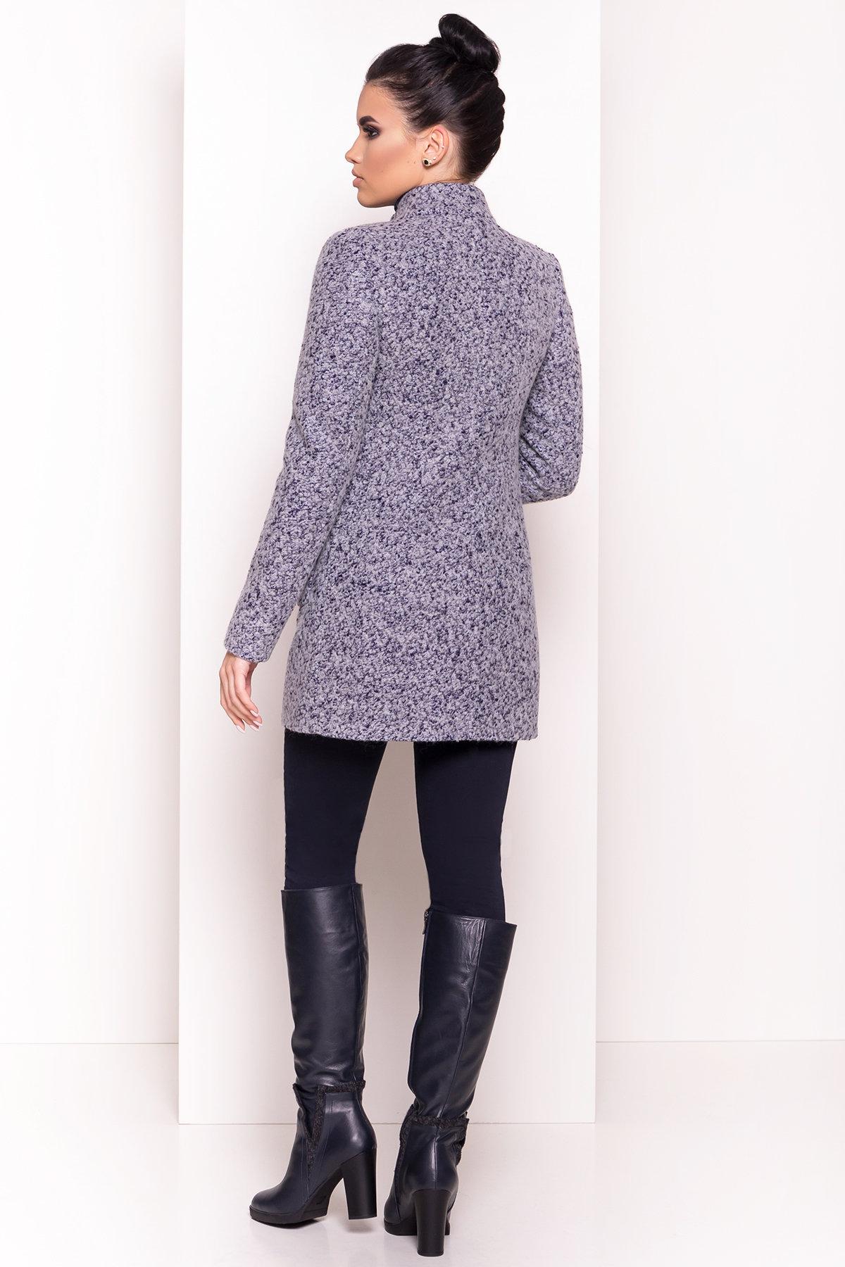 Пальто Мелини 0442 АРТ. 6778 Цвет: Серый - фото 2, интернет магазин tm-modus.ru