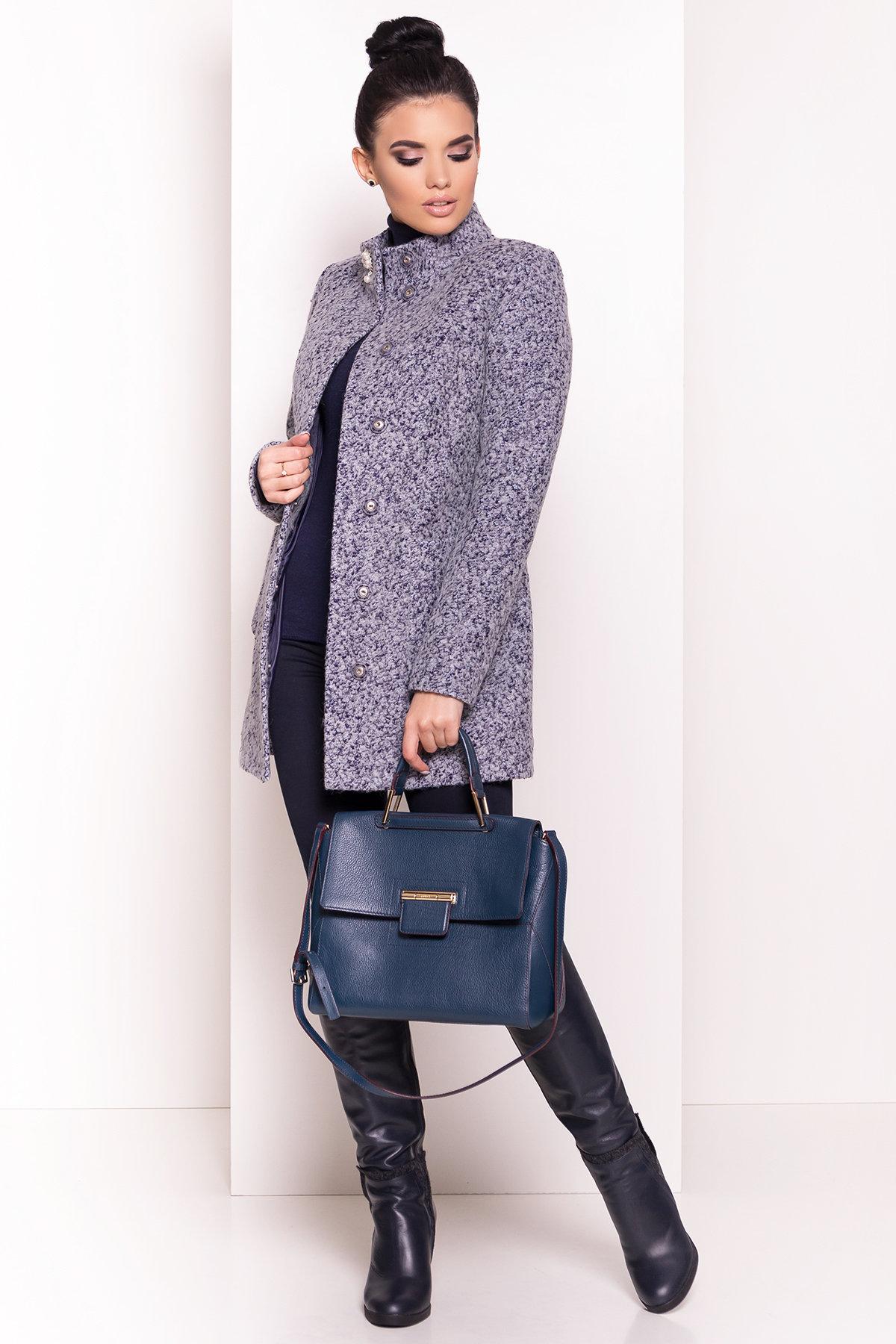 Пальто Мелини 0442 АРТ. 6778 Цвет: Серый - фото 3, интернет магазин tm-modus.ru