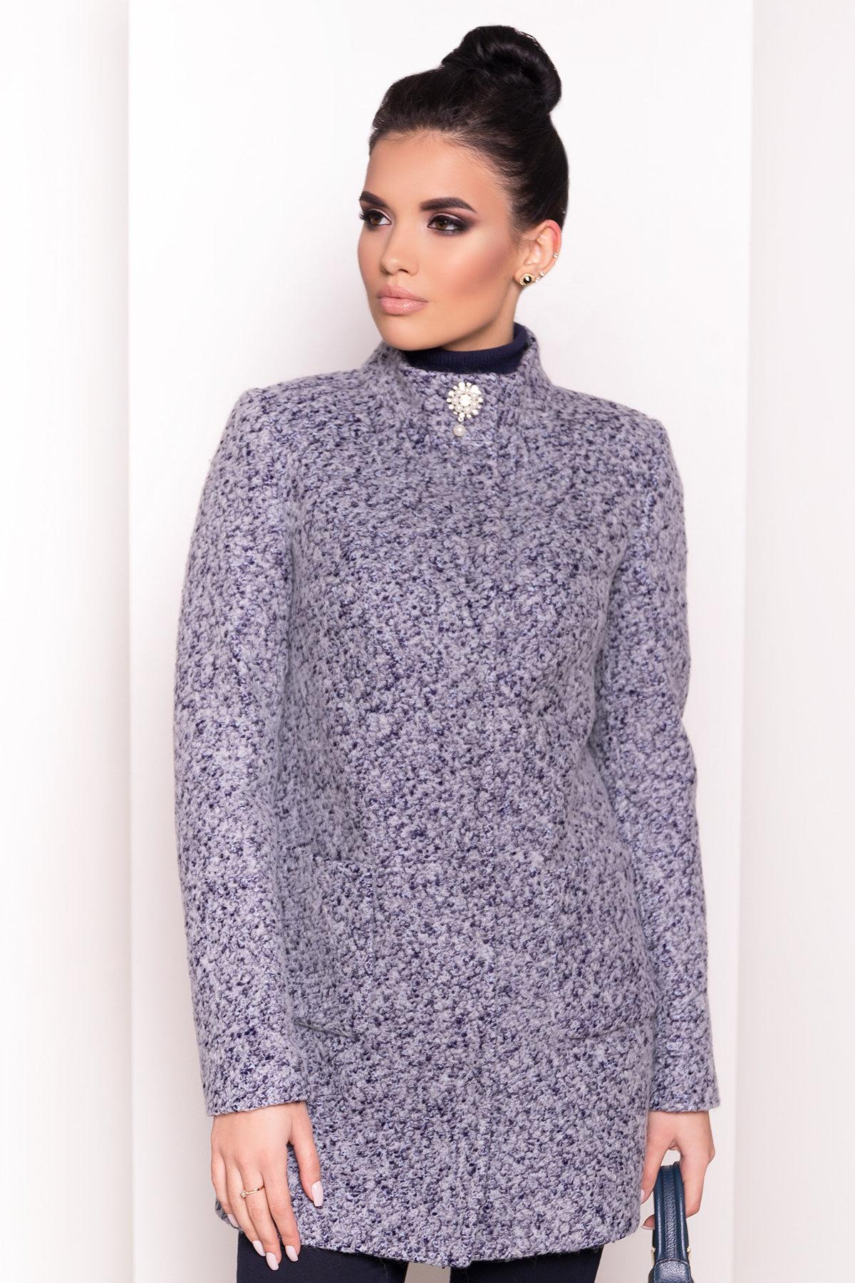 Пальто Мелини 0442 АРТ. 6778 Цвет: Серый - фото 4, интернет магазин tm-modus.ru