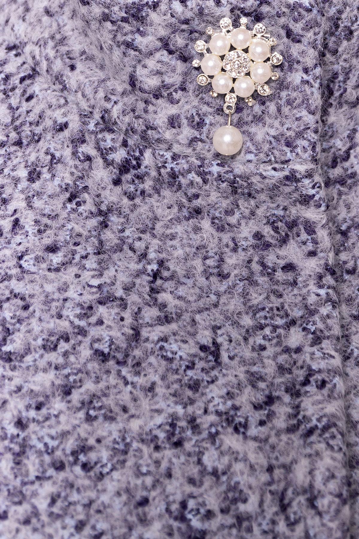 Пальто Мелини 0442 АРТ. 6778 Цвет: Серый - фото 5, интернет магазин tm-modus.ru