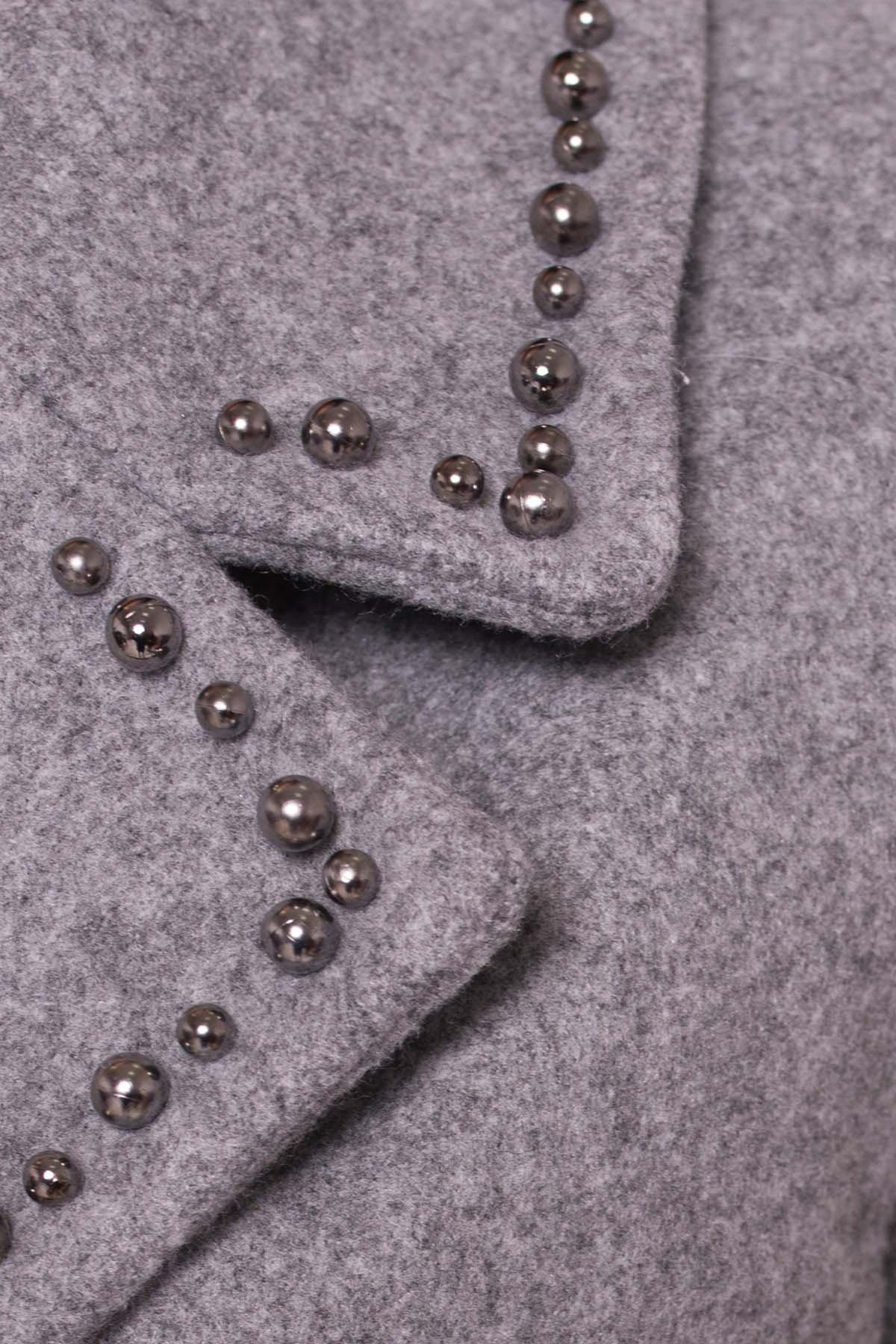 Пальто Кейси 5414 АРТ. 36765 Цвет: Серый Светлый 77 - фото 6, интернет магазин tm-modus.ru