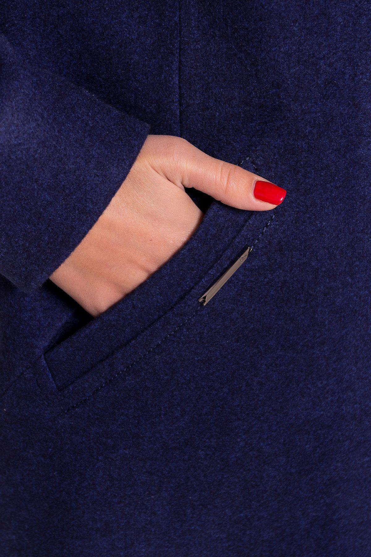 Пальто Люцея DONNA 5546 Цвет: Темно-синий 17